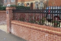 A picture of some metal railings, ordered by one of our customers
