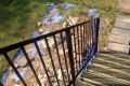 A bespoke railing made to fit