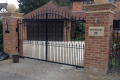 Black metal, automated bespoke gate