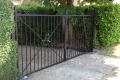 A bespoke metal gate