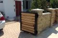 Bi-Folding Wooden Gate